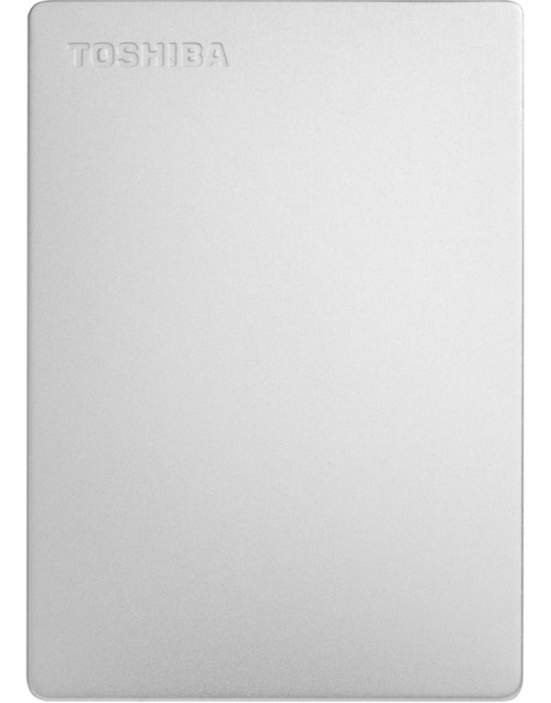 Жесткий диск Toshiba USB 3.0 1Tb HDTD310ES3DA Canvio Slim 2.5 (Цвет: Silver)