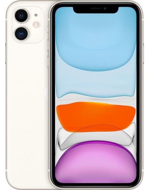 Смартфон Apple iPhone 11 128Gb MWM22RU/A (Цвет: White)