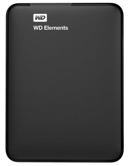 Жесткий диск WD Original USB 3.0 2Tb WDBU6Y0020BBK-WESN Elements Portable 2.5 (Цвет: Black)